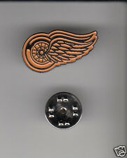 Lot 10 x DETROIT RED WINGS NHL Hockey Team Logo METAL HAT LAPEL PINS New Sealed