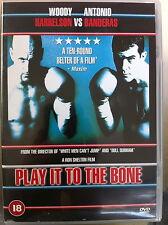 Woody Harrelson Antonio Banderas PLAY IT TO THE BONE ~ 2000 Boxing Comedy UK DVD