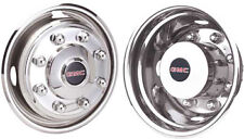 JGM1958600 GMC TOPKICK C4500 C5500 19.5 INCH LICENSED STAINLESS STEEL HUBCAPS