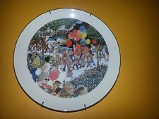 Sunday at the Lincoln Park Zoo Franklin McMahan Collector Plate 1973