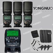 Yongnuo YN600EX-RT II Ttl Speedlite Flash + YN-E3-RT Transmisor para Canon Eos