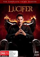 Lucifer : Season 3 (DVD, 5-Disc Set) NEW
