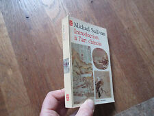POCHE MICHAEL SULLIVAN introduction a l art chinois 1968 + illustrations