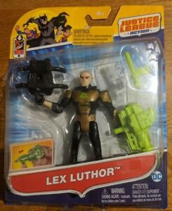 Mattel Justice League Action power connects - Lex Luthor FGP31