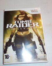 Tomb Raider: Underworld (Nintendo Wii, 2008) - Complete
