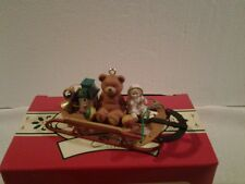 """1998 Carlton Cards Heirloom Collection """"FAVORITE THINGS"""" ornament - NIB"""