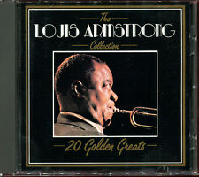 LOUIS ARMSTRONG - THE COLLECTION - 20 GOLDEN GREATS - BEST OF CD ALBUM [144]