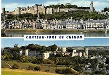 BR86560 chateau de chinon compose de trois forteresses france