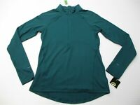 new C9 CHAMPION Track Jacket Women's Size S Active 1/2 Zip Pull Over Blue