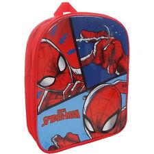 Kids Childrens Marvel Spider-Man PVC Printed Backpack School Travel Rucksack Bag
