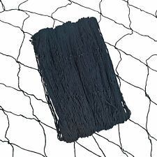Black Cotton Fish Netting Nets (1 Pack) 4 Ft x 14 Ft (4' x 14')