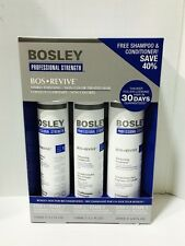 BOSLEY REVIVE SHAMPOO, CONDITIONER & THICKENING TREATMENT NON COLOR STARTER KIT