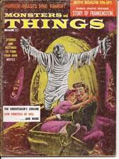 Monsters And Things Magazine #2 Story Of Frankenstein Undertaker's Sideline