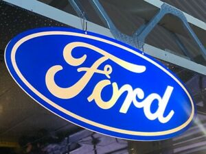 Ford Showroom sign large garage man cave can be illuminated RS E18A