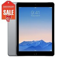 Apple iPad Air 2 16GB, Wi-Fi, 9.7in - Space Gray (Latest Model) - Grade B+ (R-D)