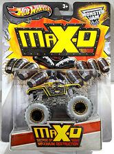 2013 HOT WHEELS MAX-D MONSTER JAM TRUCK DECADE OF MAXIMUM DESTRUCTION 1/64