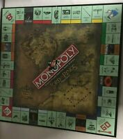Monopoly Lord Of The Rings Trilogy Edition Replacement Game Board Only Decor
