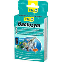 Tetra Bactozym Live Aquarium Filter Bacteria & Enzymes Cleaner 10 Capsules