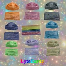 Face Mask Glitter Covered Bling Sparkle Shiny Disposable Surgical 3 Ply