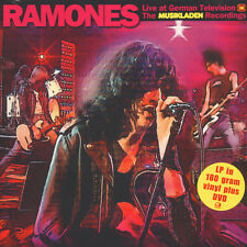Ramones-Live at German TV-The musiklad (VINILE LP + DVD - 2014-EU-original)