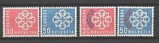 EUROPA 1959 Suisse - Switzerland neuf ** 1er choix