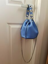 Zara Bucket Bag in light blue and small size