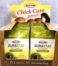 Durastat For Poultry Water Supplement Enhancer Withoregano Supplement 4gm X 20