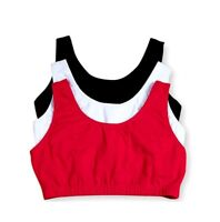 Fruit Of The Loom 9012 Tank Style Sports Bra - 3 Pack