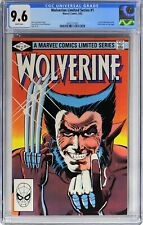 S387. WOLVERINE LIMITED SERIES #1 CGC 9.6 NM+ (1982) 1st Solo WOLVERINE Title