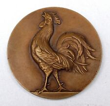 FFR Fédération Française de Rugby 1955 - Lafforgue F. - Médaille + boite