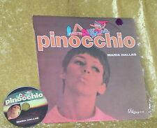Rare MARIA DALLAS LP Pinocchio + Complimentary CD Transfer(AMBUSH fame!)