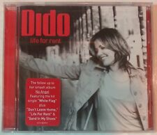 "LIFE FOR RENT by DIDO (CD, Sep-2003 - USA - Arista) BRAND NEW, ""FACTORY SEALED"""