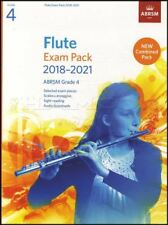 Flute Exam Pack 2018-2021 ABRSM Grade 4 Sheet Music Book/Audio Scales Arpeggios