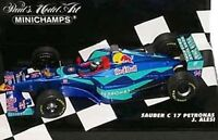 MINICHAMPS 020107 020108 980014 990012 SAUBER F1 model car 1998/9 & 2002 1:43rd