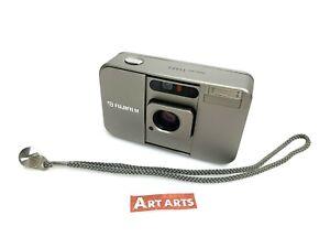 【EXCELLENT+++++ w/ STRAP】 Fujifilm Fuji Cardia Mini TIARA Film Camera from JAPAN