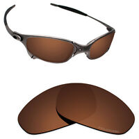 Hawkry SaltWater Proof Brown Replacement Lenses for-Oakley Juliet -Polarized