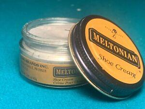 Meltonian Silver #231 Shoe Boot Leather Net WT 1.55 oz US Made Cream Polish