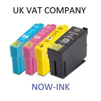 Non OEM 34XL INK CARTRIDGES FOR EPSON WF Pro 3720 3725DWF GOLF BALL MULTIPACK