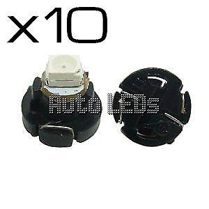 10 White SMD LED T4.2 Neo Wedge 12v Interior LED Bulb