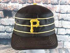 Vintage 70s Pittsburgh Pirates  MLB Snapback Pillbox Cap Hat