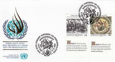 United Nations 1989 Human Rights Series Unadressed(3) FDC