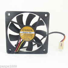 4pcs SUNON MagLev DC Cooling fan KDE1207PFV3-A 70x70x10mm 7010 DC12V 0.7W 3pin