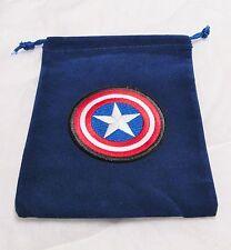 Marvel Dice Masters Avengers CAPTAIN AMERICA CIVIL WAR (_+_) Drawstring DICE BAG