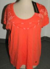NUOVO Giubbotto NAPAPIJRI T-shirt, taglia L, Arancione, Super