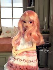 OOAK Ruruko  pink custom Doll  By crisso