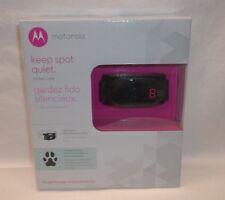 New listing Motorola Dog No-Bark Collar Scoutbark100 with 9 static correction levels Nib