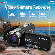 "FHD 24MP 1080P 16X ZOOM 2.7"" TFT LCD Digital Cámara de Vídeo DV Videocámara CMOS"