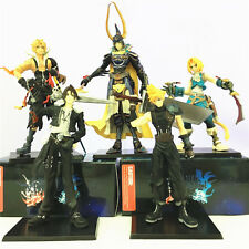 5pcs Final Fantasy Cloud Warrior of Light Tidus Squall Leonhart Figure Figurine