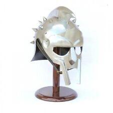 The Movie Gladiator Helmet Of The Spaniard - Great Display, Re-enactment or LARP