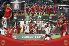 SOCCER POSTER Liverpool Cup Winners